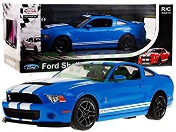 RAS49400 Rastar 1/14 Ford Shelby GT500 RTR R/C Car Blue