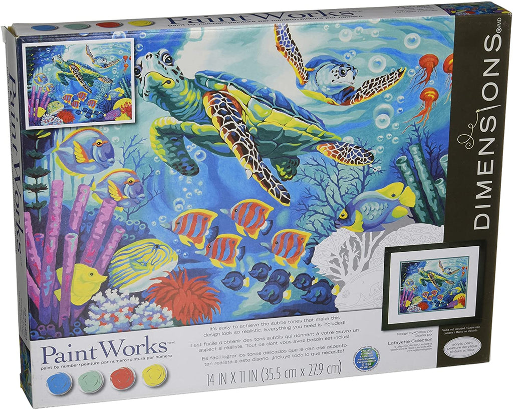 DIM91454 Paintworks Sea Turtles