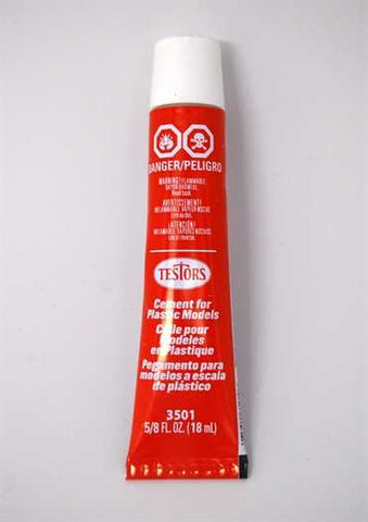 TES3501 Testors Tube Cement