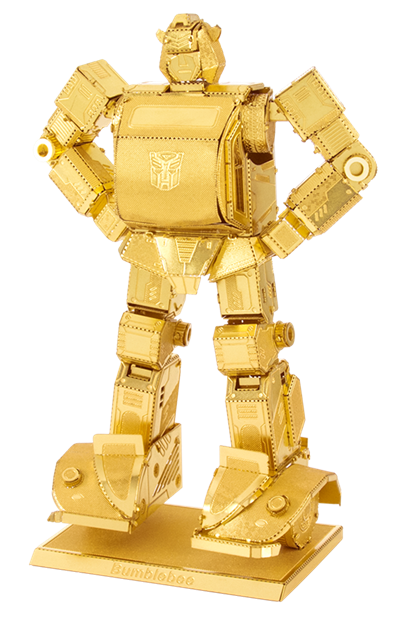 MMS301G Metal Earth Bumblebee Gold Edition