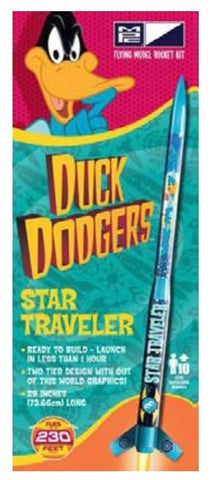 MPC RKT007 Duck Dodgers Star Traveler Model Rocket