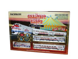 BAC00749 Bachmann HO The Greatest Show on Earth Train Set