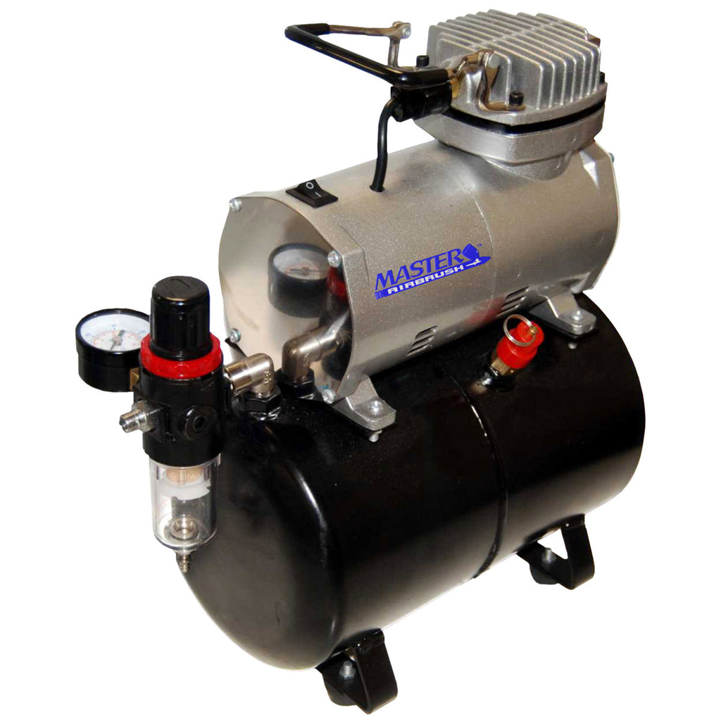 Master Airbrush ABDTC-20T Piston Airbrush Compressor with Air Tank