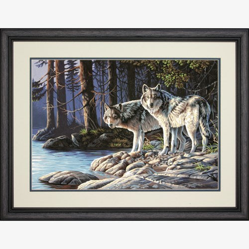 DIM91445 Paintworks Gray Wolves