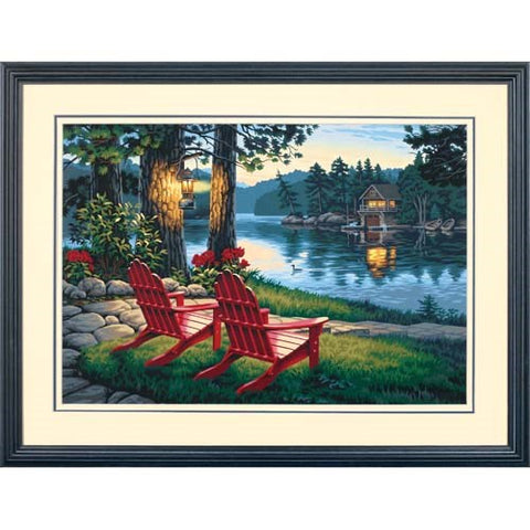 DIM91357 Paintworks Adirondack Evening