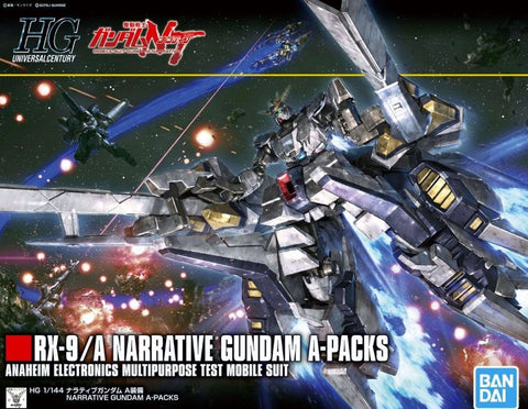 BAN5055365 HG 1/144 RX-9/A Narrative Gundam A-Packs