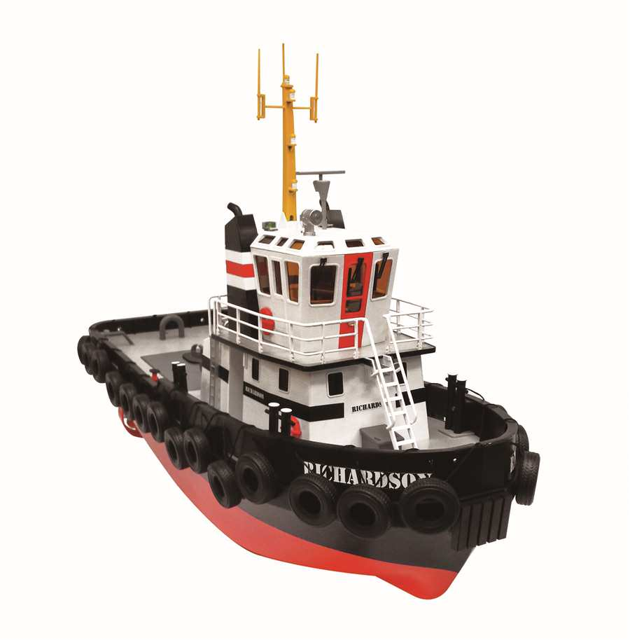 RHE0721 Hobby Engine Richardson Tug R/C Boat
