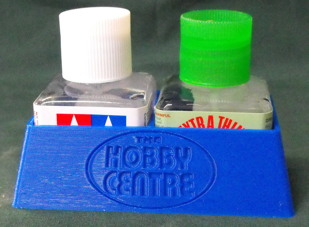 HC3D-2 Tamiya Jar No Tip Holder (Double)