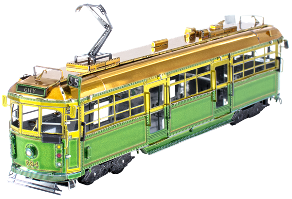 Metal Earth Melbourne W Class Tram (Coloured)