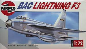 AIR02080 Airfix 1/72 BAC Lightning F3