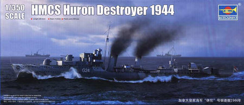 Trumpeter HMCS Huron Canadian WW2 Tribal Class Destroyer