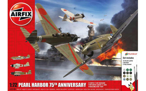 Airfix A50180 1/72 Pearl Harbour 75th Anniversary Set