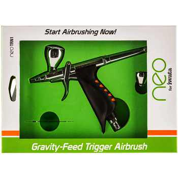 IWAN5500 Iwata NEO Gravity Feed Double Action Trigger Airbrush