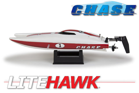 LH-20003 Litehawk Chase R/C Electric Speed Boat