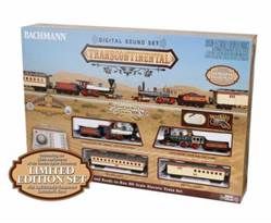 BAC00827 Bachmann HO The Transcontinental Train Set