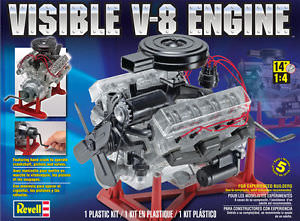 Revell REV8883 1/4 Visible V-8 Engine