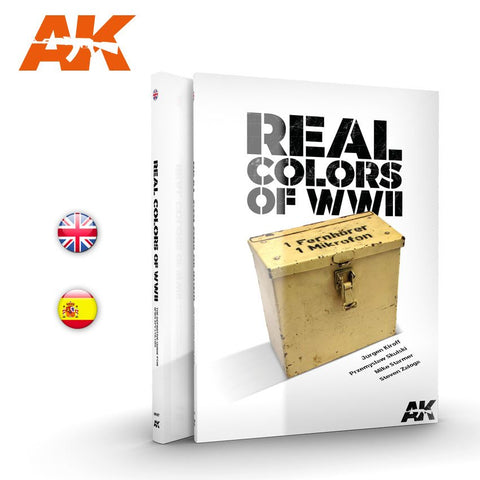 AK Interactive AK187 Real colors of WWII Book