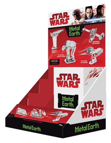 Metal Earth Star Wars The Last Jedi Models