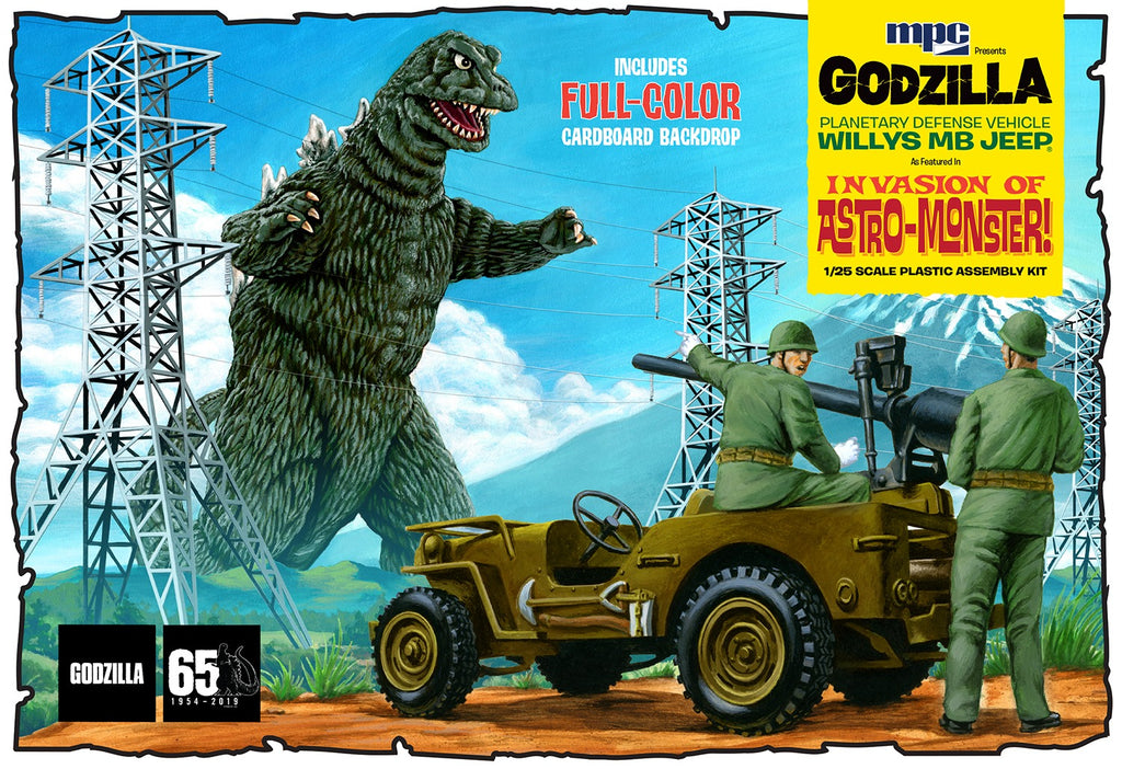 MPC882 MPC 1/25 Godzilla Willys MB Jeep