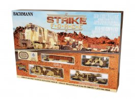 BAC00752 Bachmann HO Strike Force Train Set