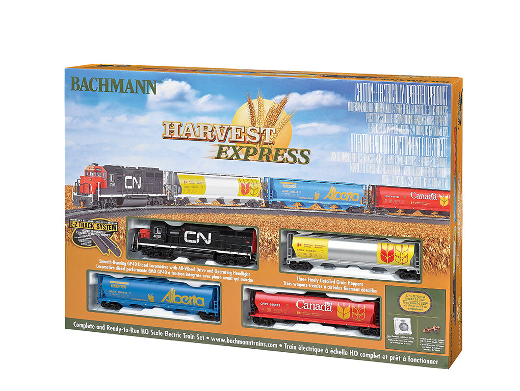 BAC00735 Bachmann HO Harvest Express Train Set