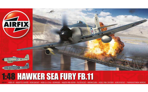 AIR06105 Airfix 1/48 Sea Fury FB.11