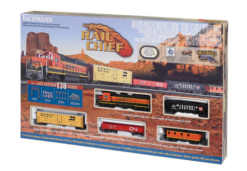 BAC00706 Bachmann HO Rail Chief Train Set