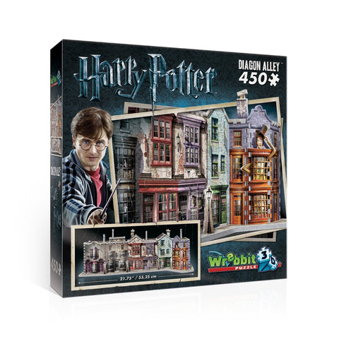 Wrebbit W3D1010 Harry Potter Diagon Alley 3D Puzzle