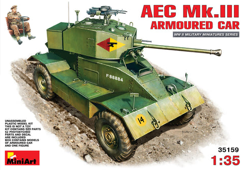MIN35159 Miniart 1/35 AEC Mk.III Armoured Car