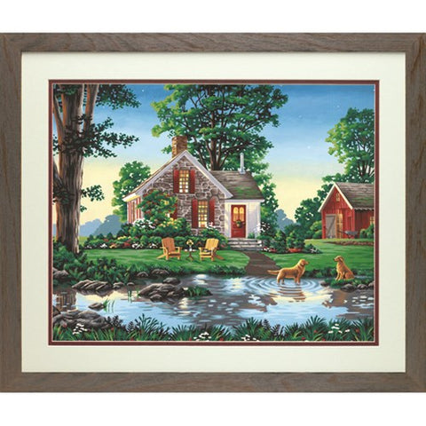 DIM91433 Paintworks Summer Cottage