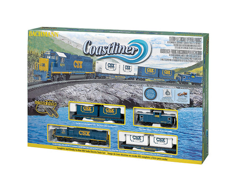 BAC00734 Bachmann HO Coast Liner Train Set