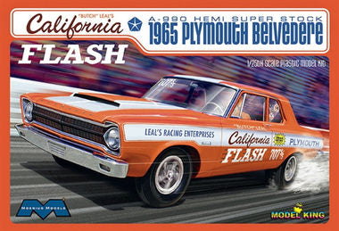 Moebius MOE1222 1/25 California Flash 1965 Plymouth Belvedere