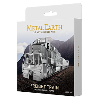 Metal Earth Freight Train