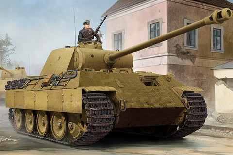 HB84506 Hobbyboss 1/35 Panther A with Zimmerit