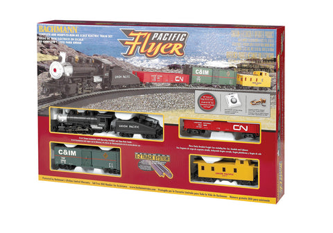 BAC00692 Bachmann HO Pacific Flyer Train Set