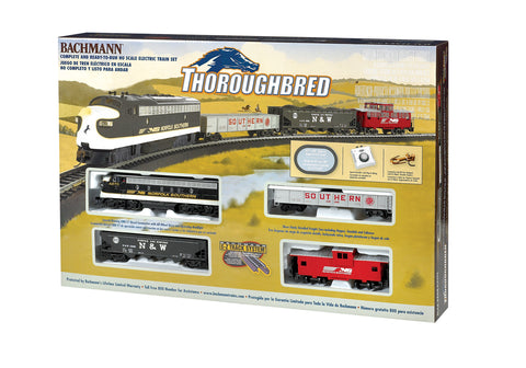BAC00691 Bachmann HO Thoroughbred Train Set