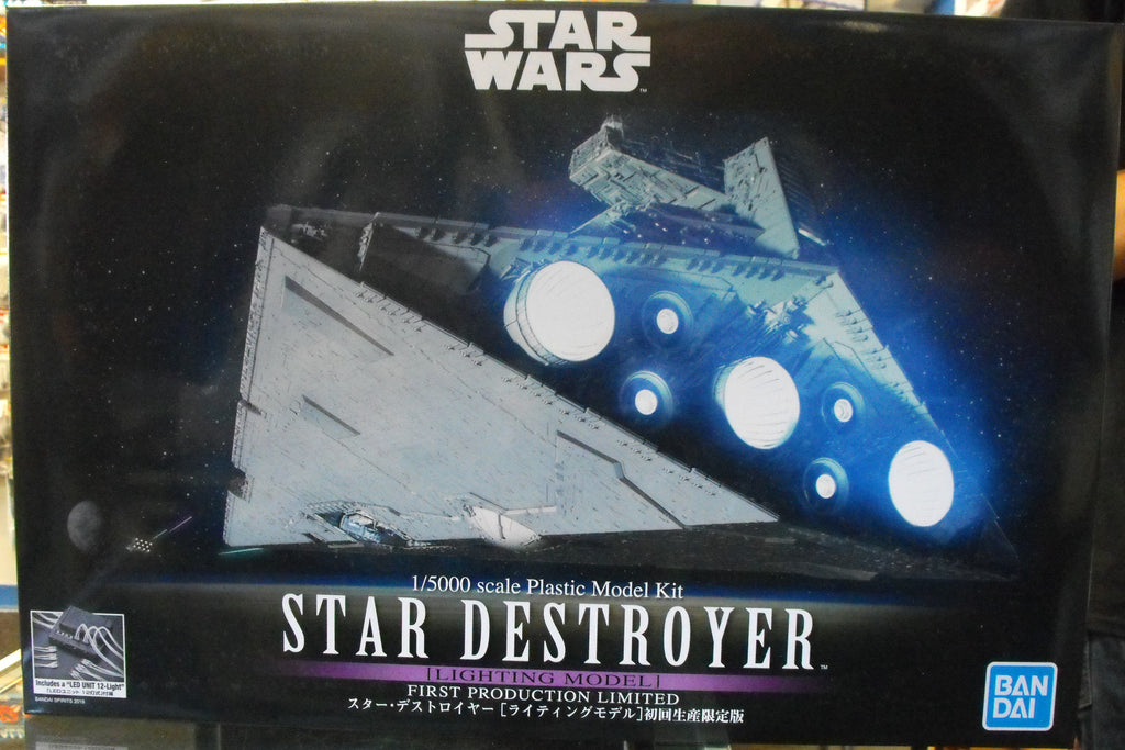 BAN5057625 Bandai 1/5000 Star Destroyer Ltd. Ed. With Lights