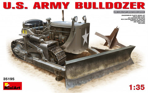 MIN35195 Miniart 1/35 US Army Bulldozer