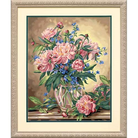 DIM91382 Paintworks Peony Floral