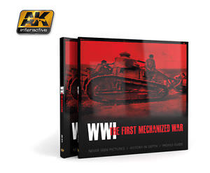 AK Interactive AK273 WW1 The First Mechanized War Book