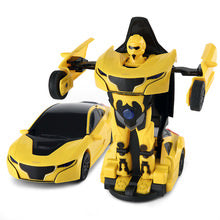 RAS747002 1/14 RS Transformable Car RTR Yellow