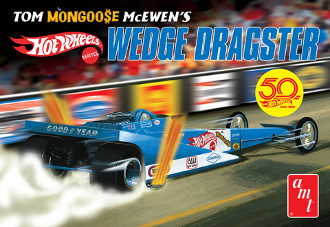 AMT AMT1069 1/25 Tom Mongoose McEwen's Hot Wheels Wedge Dragster