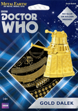 Metal Earth Doctor Who Coloured 3D Model Kits