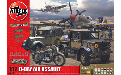 AIR50157A Airfix 1/72 D-Day Air Assault