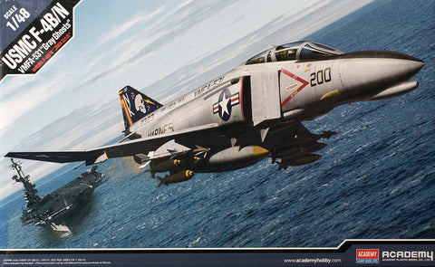 "ACA12315 Academy 1/48 USMC F-4B/N VMFA-531 ""Grey Ghosts"""