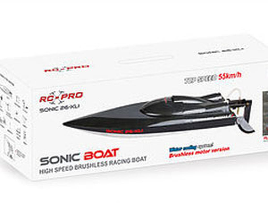 RC-PRO Sonic 26-XLI Brushless Motor Racing Boat