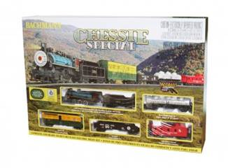 BAC00750 Bachmann HO Chessie Special Train Set
