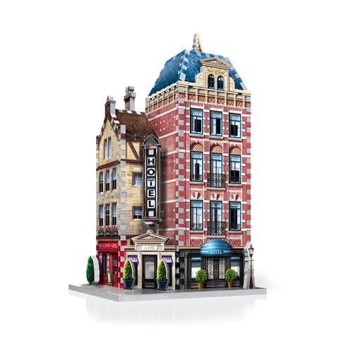 Wrebbit W3D0501 Urbania Collection Hotel 3D Puzzle
