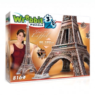 W3D2009 Wrebbit Eiffel Tower 3D Puzzle