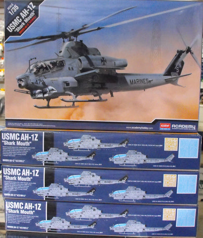 "ACA12127 1/48 USMC AH-1Z ""Shark Mouth"""
